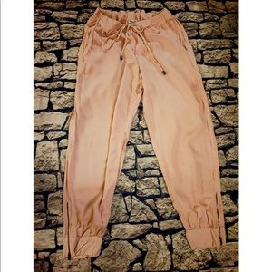 Splendid light weight taupe pink pants
